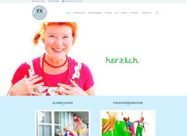Webseite Wilma's Theater Welt Birgit Klinksieck