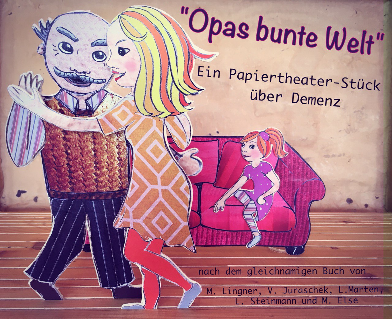 Papiertheater - Opas bunte Welt - Birgit Klinksieck- Wilmas Theater Welt